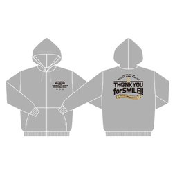 The Idolm@ster Million Live! 4th Live: Th@nk You for Smile!! Official Hoodie