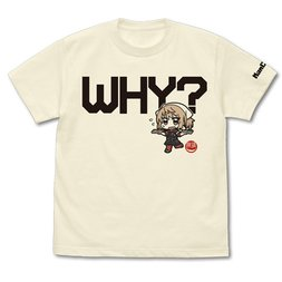 Kantai Collection -KanColle- Why? Pacific Saury Mode Michishio Vanilla White T-Shirt