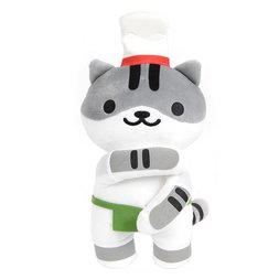 "Neko Atsume Giant 12"" Guy Furry Plush"