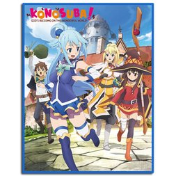 KonoSuba Group Sublimation Throw Blanket