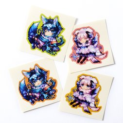 Cheerful Kemomimi Stickers