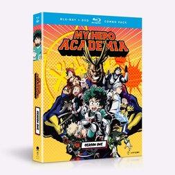 My Hero Academia - Season One - BD/DVD Combo
