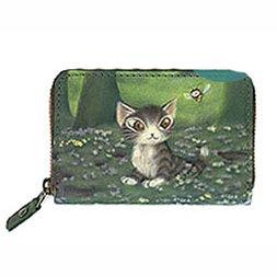 Wachifield Dayan the Cat Mori no Sasaki Art Coin Case