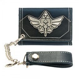 Legend of Zelda Metal Badge Chain Wallet
