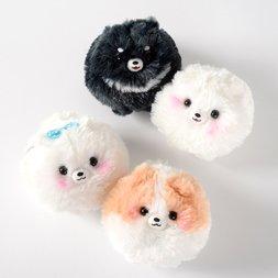 Pometan & Friends Dog Plush Collection (Ball Chain)