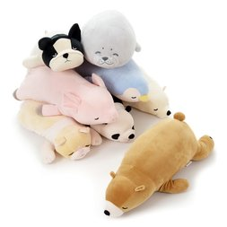 Marshmallow Animal Hug Pillows (Medium)