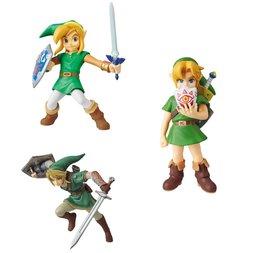 Ultra Detail Figure Legend of Zelda Link Complete Set