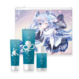 Snow Miku Men's Travel Set