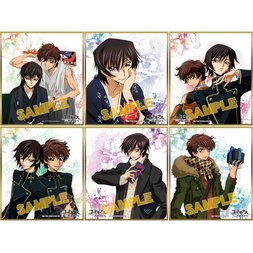 Code Geass Mini Shikishi Board Collection Box Set