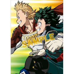 My Hero Academia Fourth Season Teaser Visual Clear File