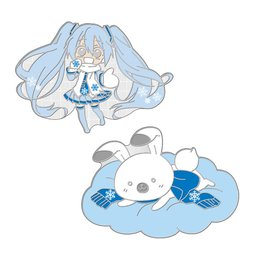 Snow Miku Sky Town Pin Set