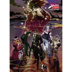 JoJo's Bizarre Adventure S3 Group Premium Wall Scroll