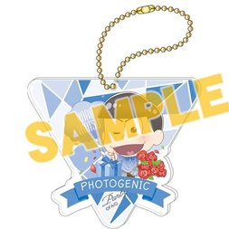Osomatsu-san Photogenic Party Karamatsu Big Acrylic Ball Chain Charm