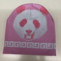 ACDC RAG Pink Panda Knit Cap