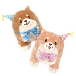 Chuken Mochi Shiba Sakura & Monaka's Birthday Plush Collection (Big)