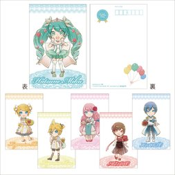 Vocaloid Postcard Set - Birthday SD Ver.