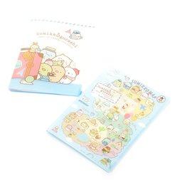 Sumikko Gurashi Oheya no Sumi de Tabikibun Clear Pocket File