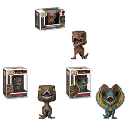 Pop! Movies: Jurassic Park - Dinosaurs Set