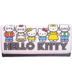 b5ff5433413 Hello Kitty 40th Anniversary Canvas Wallet
