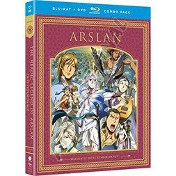 The Heroic Legend of Arslan: Dust Storm Dance - Season 2 Blu-ray/DVD Combo Pack