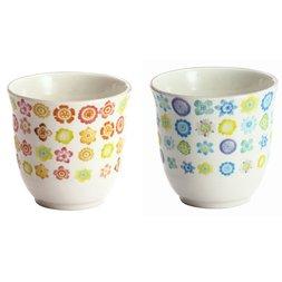 Hana Botan Mino Ware Teacups