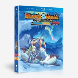 Monster Hunter Stories: Ride On Season 1 Part 2 Blu-ray/DVD Combo Pack