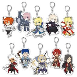 Pikuriru! Fate/Grand Order Trading Acrylic Keychain Charms Box Set (Re-run)