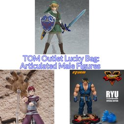TOM Outlet Lucky Bag: Articulated Male Figures