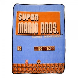 Super Mario Bros. Throw Blanket