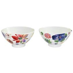 Mino Ware Saiyuki Rice Bowls