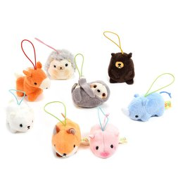 Puchimaru Zoo Animal Plush Collection (Mini Strap)