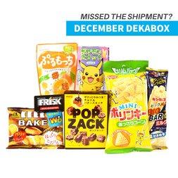 December 2016 Dekabox (Snacks Only)