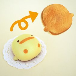 Mother Garden Soft Bread Series Piyo-chan Squeeze Toy