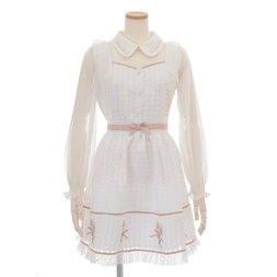 LIZ LISA Margaret Embroidered Dress