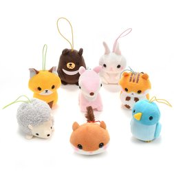 Puchimaru Forest Friends Animal Plush Collection (Strap)