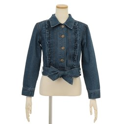LIZ LISA Ribbon Belt Jean Jacket