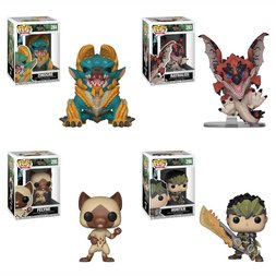 Pop! Games: Monster Hunter - Complete Set