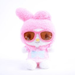 My Melody Bean Doll Sunglasses Plush