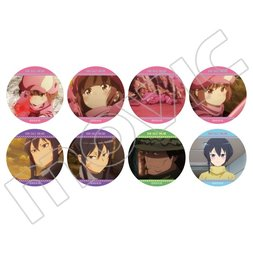 Sword Art Online Alternative: Gun Gale Online Anime Scenes Pin Badge Box Set