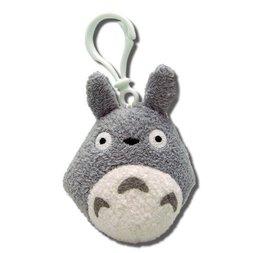 Totoro Gray Plush Clip