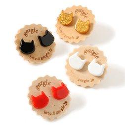 gargle Acrylic Cat II Earrings