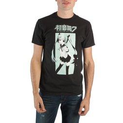 Hatsune Miku Graphic Men's Crew Neck Tee