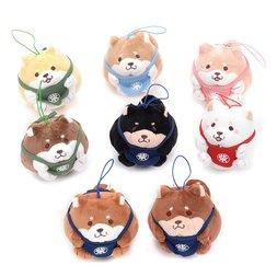 Chuken Mochi Shiba Round All-Stars Mascot Plush Collection