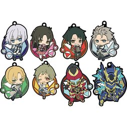 Knight's & Magic Rubber Strap Collection Box Set