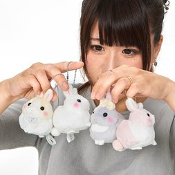 Usa Dama-chan Fuwamoko Ribbon Rabbit Plush Collection (Mini Strap)