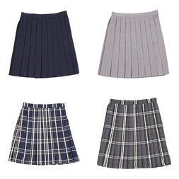 Teens Ever High School Uniform Skirt
