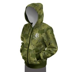 Monster Hunter: World Camo Full Zip Hoodie