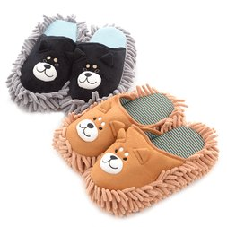 Shiba Inu Mop Slippers