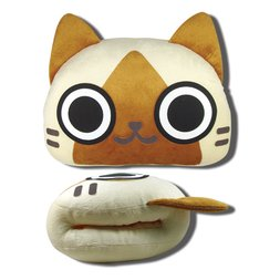 Monster Hunter Felyne Hand Warming Pillow
