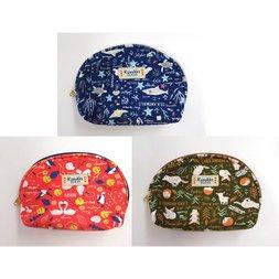 Kusukko Zukan Mini Shell Pouch Series